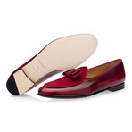 Tangerine 3 Brushed Belgian Loafers // Burgundy (Euro: 46)