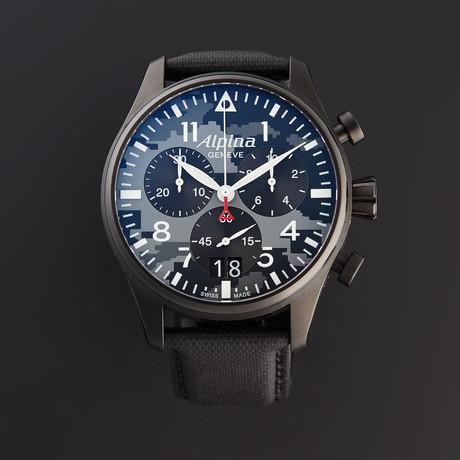 Alpina Chronograph Quartz // AL-372BMLY4FBS6 // Pre-Owned