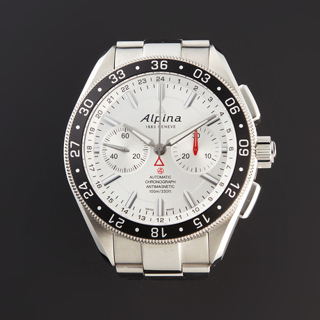 Alpina Chronograph Automatic // AL-860S5AQ6B // Pre-Owned