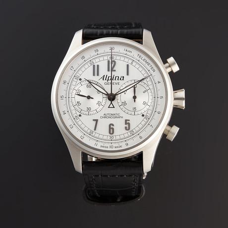 Alpina Startimer Classics Chronograph Automatic // AL-860SCP4S6 // Pre-Owned