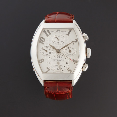 Van Der Bauwede Dual Time Chronograph Automatic // Store Display