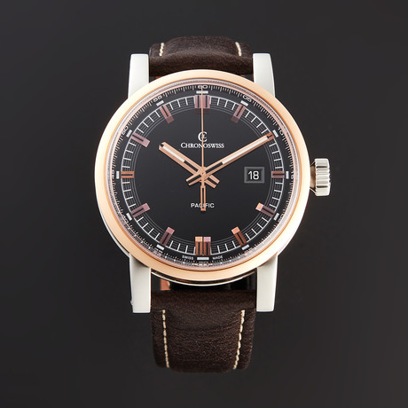 Chronoswiss Pacific Grand Automatic // CH-2882-BR-BK1 // Pre-Owned