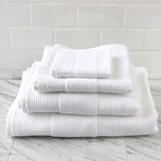 Waffle Terry Towel // 6 Piece Set (Pebble Gray)