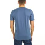 Putney Crown T-Shirt // Indigo (S)