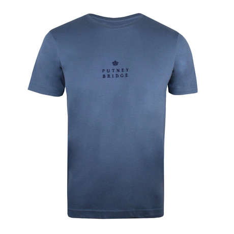 Putney Crown T-Shirt // Indigo (S)