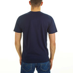 Putney Crown T-Shirt // Navy (S)