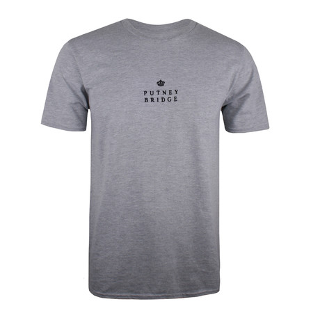 Putney Crown T-Shirt // Gray Marl (M)
