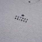 Putney Crown T-Shirt // Gray Marl (S)