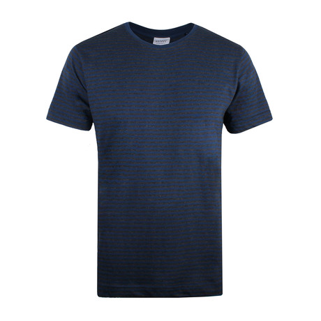 Signature T-Shirt // Navy Stripe (S)