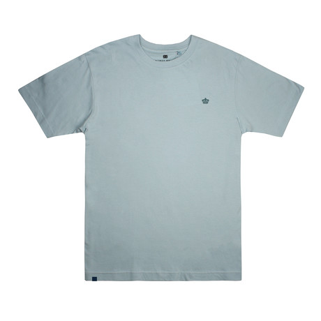 Tonal Crown T-Shirt // Teal (S)