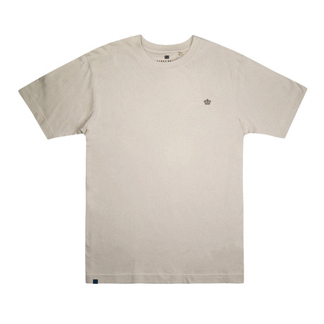 Tonal Crown T-Shirt // Sand (S)