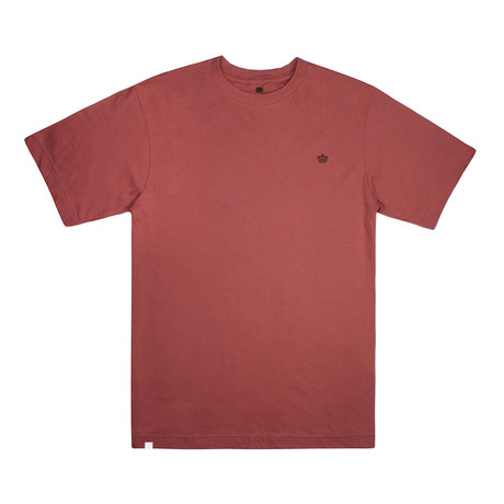 Tonal Crown T-Shirt // Terracota (S)