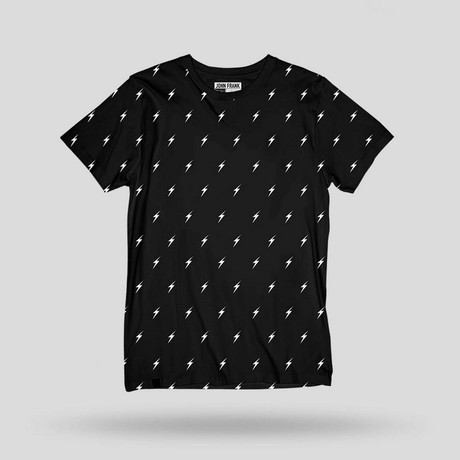 Monochrome Bolt Tee // Multicolor (S)