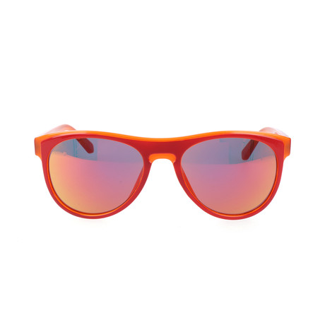 Unisex L782S Sunglasses // Red Orange
