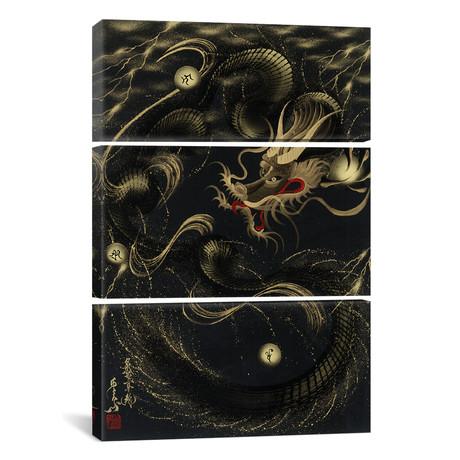 Thunder Black Dragon // Triptych