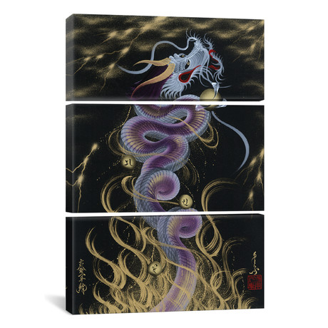 Thunder Purple Dragon // Triptych