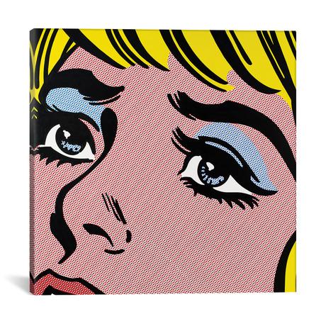 """Sad Eyes (18""""W x 18""""H x 0.75""""D)"""