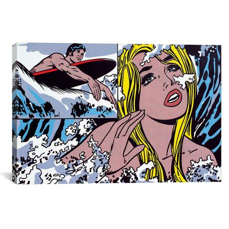 """Surfer (26""""W x 18""""H x 0.75""""D)"""