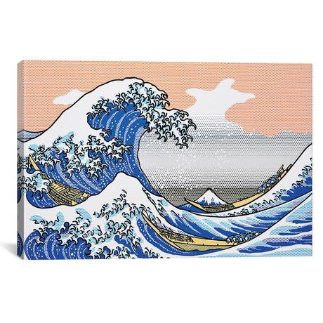 """The Wave // Toni Sanchez (26""""W x 18""""H x 1.5""""D)"""
