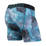 Entourage Boxer Brief // Cosmos Teal (XS)