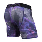 Entourage Boxer Brief // Cosmos Purple (XL)