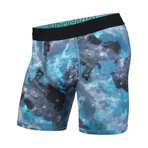 Entourage Boxer Brief // Cosmos Teal (2XL)