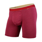 Classic Boxer Brief // Crimson Heather + Chino (S)
