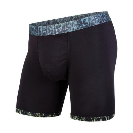 Classic Boxer Brief // Black Bamboo + Black (XS)
