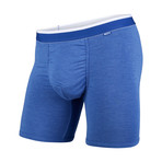 Classic Boxer Brief // Blue Heather + White (M)