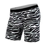 Classic Boxer Brief // Tiger White + Black (L)