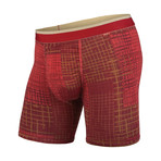 Classic Boxer Brief // Golden Gate Grid (XS)