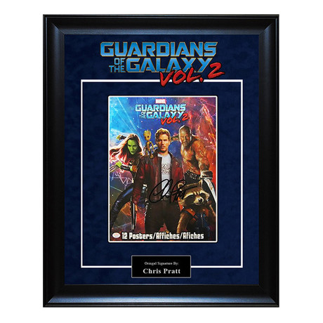 Signed + Framed Artist Series // Guardians of the Galaxy