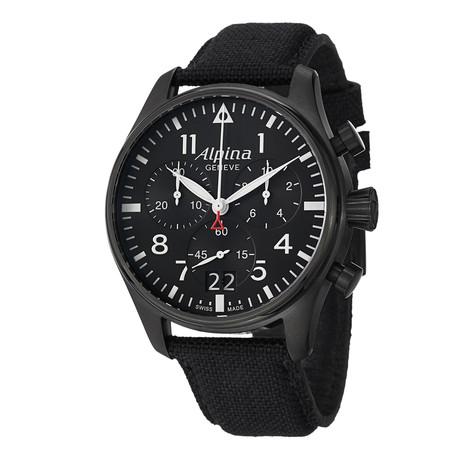 Alpina Startimer Pilot Chronograph Quartz // AL-372B4FBS6 // Store Display