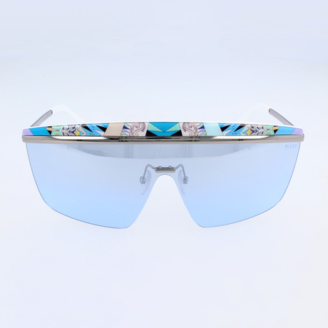 EP0007-89X Sunglasses // Turquoise