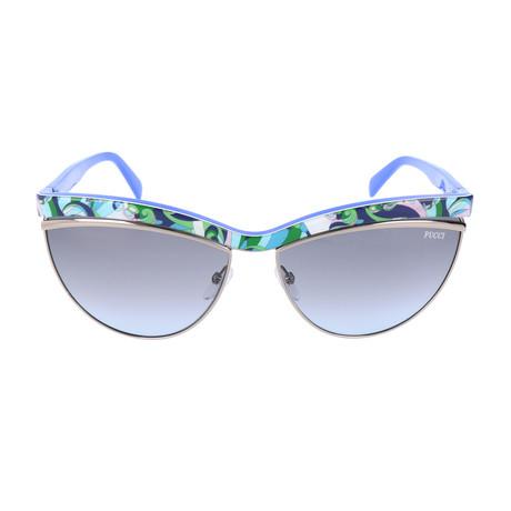EP0010-89W Sunglasses // Turquoise