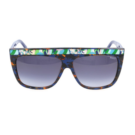 EP0008-56W Sunglasses // Havana