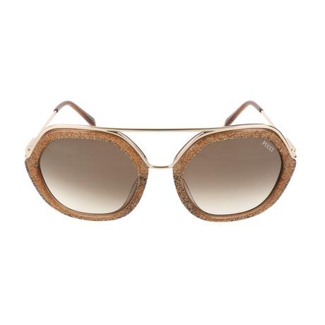 EP0014-47F Sunglasses // Light Brown