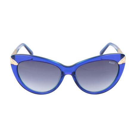 EP0017-92W Sunglasses // Blue