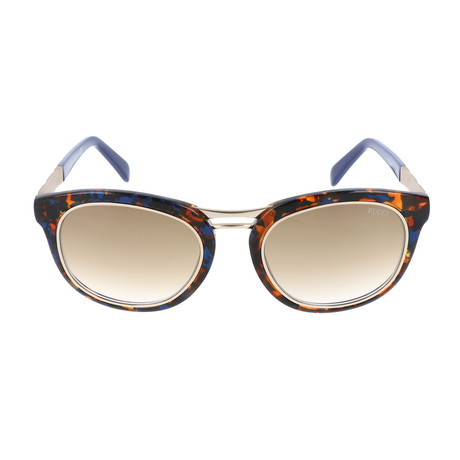 EP0020-55F Sunglasses // Colored Havana