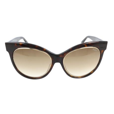EP0024-56F Sunglasses // Havana