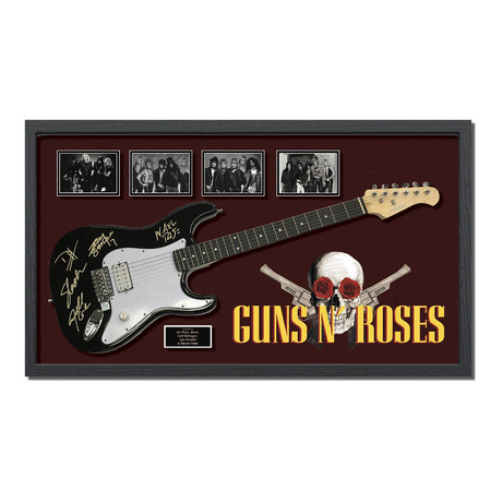 Signed + Framed Guitar // Guns N' Roses