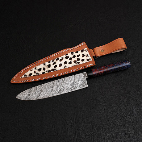 Damascus Chef Knife // 9840