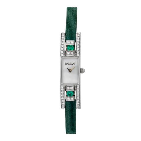 Damiani 18k White Gold Diamond Bracelet Watch