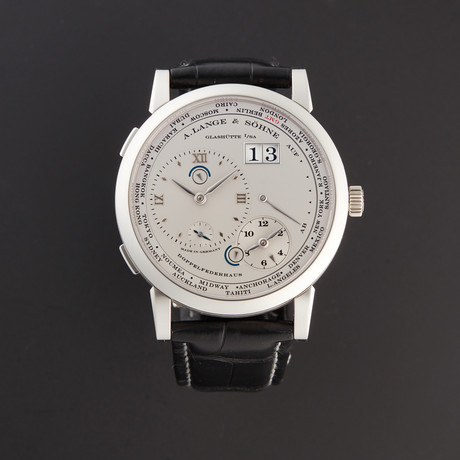 A. Lange & Söhne Lange 1 Time Zone Manual Wind // 116.025 // Pre-Owned
