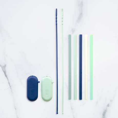 Silicone Straw // Studio Set // 5-Pack