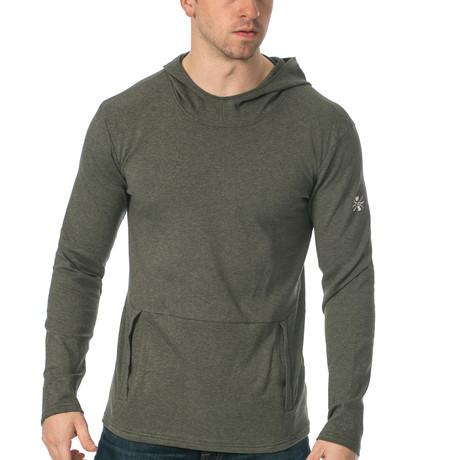 Everyday Ultra Soft Hooded Pullover // Dark Grey (S)