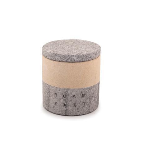 Deco Sandstone Candle (Fresh Breeze Fragrance)