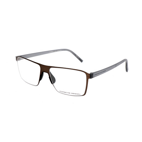 Men's P8309 Optical Frames // Brown