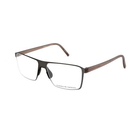 Men's P8309 Optical Frames // Gunmetal
