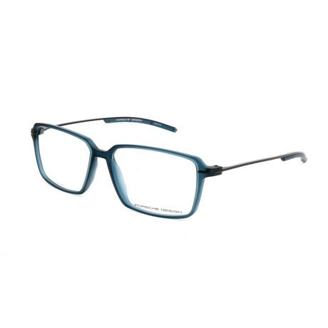 Men's P8311 Optical Frames // Blue Transparent